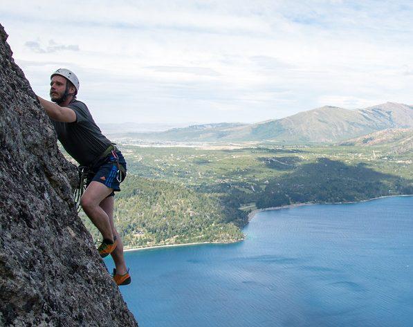 Sport climbing Patagonia