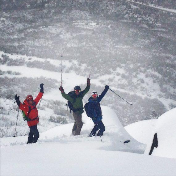 Esquí de travesía en Bariloche